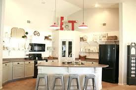 red mini pendant lights for kitchen island
