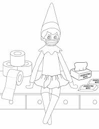 Download and print these elf on the shelf color pages coloring pages for free. 3 Elf On The Shelf Coloring Pages Freebie Finding Mom