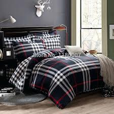 plaid king comforter sets new black white stripes and check plaids plain bedding duvet cover set plaid king comforter