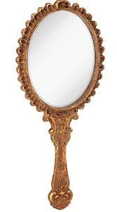 antique hand mirror