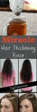 diy hair thickening mask