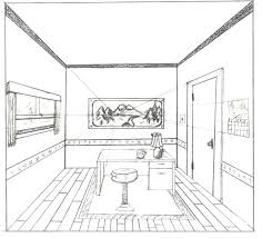 Good One Point Perspective Interior By Brandnewsong ...