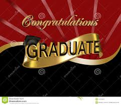 congratulations to graduate congratulations graduate stock illustration image of gold 14794641