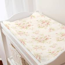 49 00 pink fl changing pad cover