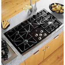 ge profile 36 in gas on glass gas cooktop in stainless steel ge profile 36 in gas on glass gas cooktop in stainless steel 5 burners including power boil burner jgp970sekss the home depot
