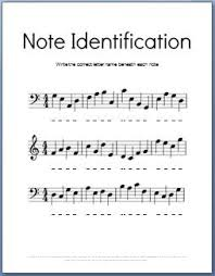 Note Values Chart Pdf Music Theory Worksheets 50 Free Printables