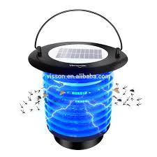 Indoor Bug Light Bug Zapper Solar Powered Electrical Fly Trap Vensmile Waterproof Mosquito Killer With Night Light For Home Indoor And Outdoor U Buy Bug