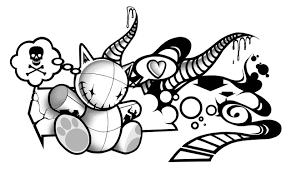 Cartoon Designs Cute Designer And Cartoon Graffiti Creator Graffiti