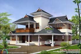 Traditional Contemporary House Designs Traditional House With Modern Mix Kerala Home Design