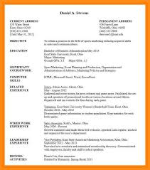 9 10 Undergrad Resume Template Elainegalindocom