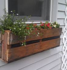 Diy Window Boxes Pallet Planter Pallets And Box