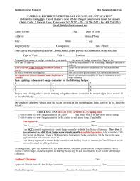 Boy Scout Medical Form Forms 4