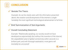 Conclusion In Essay Argumentative Essay Conclusion Rome Fontanacountryinn Com