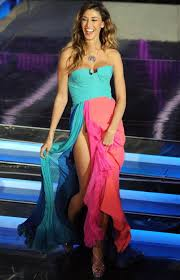 Belen Rodriguez senza slip, e stasera a Sanremo ne vedremo