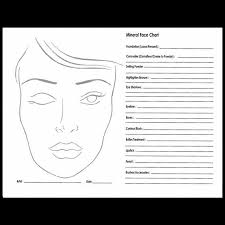 Limelight By Alcone Concealer Chart Face Chart Pad Makeup Guide 50 Sheets Alcone Company