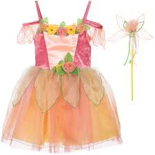 Dress Up By Design Fairy Girls Orange Fairy Costume Costumes Dresses Fairy