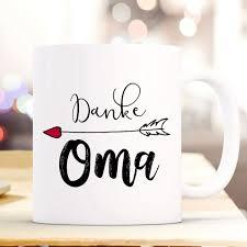 Tasse Becher Kaffeetasse Mit Spruch Danke Oma Wunschnamen Name