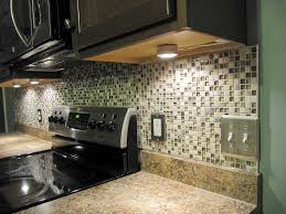 Decor: Nice Peel And Stick Mosaic Tile Backsplash With Switch ...