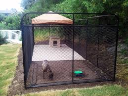outside dog kennels you can really appreciate how these two kennels fit into the garden fenced inyard for dogs ideas dog gardens and