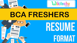 resume | bca freshers resume | sample resume | resume templates ...