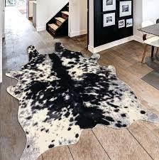 white animal rug faux animal cow shape black white indoor area rug gray white zebra rug