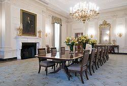 the state dining room after renovation in 2018