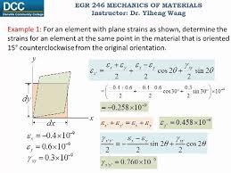 mechanics of materials lecture 21 plain strain transformation you