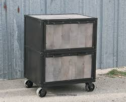 interesting modern file cabinets made vintage industrial cabinet