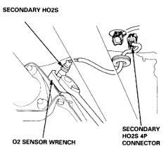 have 1998 honda crv trying to replace o2 sensor located at the 2000 honda civic o2 sensor wiring diagram at Honda O2 Sensor Wiring Diagram