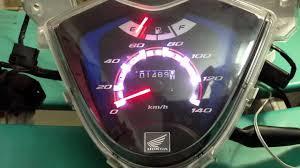 Đèn Led 7 màu báo tua máy độc đáo cho taplo xe máy.vision - YouTube
