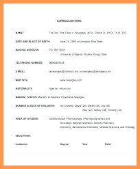 How To Format Resume Package Locum Pharmacist Template