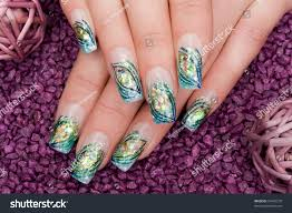 Nice Hands Nail Art Stock Photo 55465270 - Shutterstock
