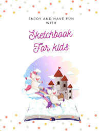 We have collected 40+ blank coloring page for kids images of various designs for you to color. Enjoy And Have Fun With Sketchbook For Kids 8 5x11 Inches Notebook Blank Page Journal 100