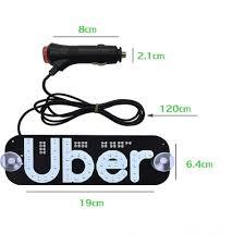 Uber Light Amazon Donjon Led Uber Light Sign Uber Flashing Hook On Car Window With Dc12v Car Charger Inverter For Rideshare Driver Uber Light Up Sign Uber Red