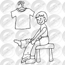 get dressed clipart black and white. Simple Dressed Get Dressed Outline In Clipart Black And White 0