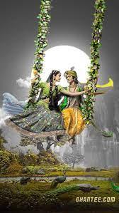 Radha krishna, HD mobile wallpaper