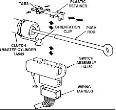 ford ranger take clutch interlock switch wheel drive graphic