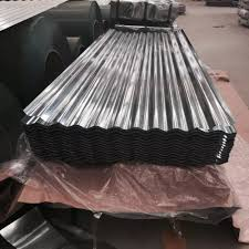 galvanized corrugated metal roofing 65 with galvanized corrugated metal roofing
