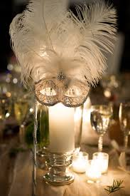Table Decorations For Masquerade Ball Garden Glam Hudson Valley Wedding Masquerade ball Table centers 3