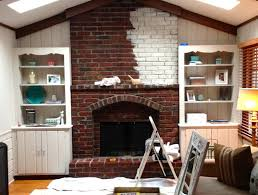brick whitewashing brick fireplace paint fireplace brick