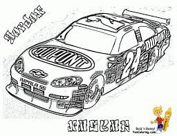 Small Picture Nascar Coloring Pages Free Printable aecostnet aecostnet