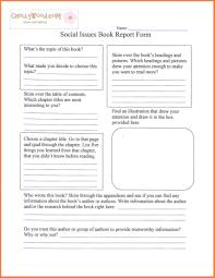 Book Report Templates Middle School Non Fiction Book Report Template Middle School Templatesource