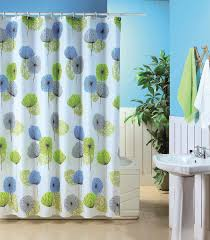 blue canyon polyester shower curtain dandelion shower curtains from boswells