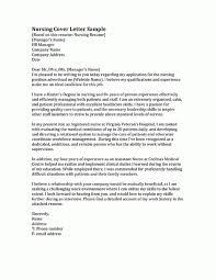 Cover Letter Sample For Rn Ideal Vistalist Co Inside Nursing