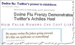 twitter goes viral swine flu outbreak twitter a dangerous hype  this is a serious allegation evgeny morozov s main critiques