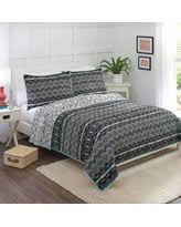 Deals to Ring in the New Year: Better Homes and Gardens Quilts ... & Better Homes and Gardens Onyx Aztec Quilt Collection Adamdwight.com