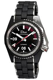 christian dior chiffre rouge diving men s watch christian dior chiffre rouge diving men s watch is an underwater timepiece and can complete any of your wardrobe it features a 42mm black stainless steel