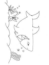 Small Picture Shark Coloring Pages and Posters