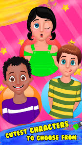 baby face paint makeover games for kids screenshot on ios