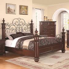 Solid Wood American Made Bedroom Furniture King Bed Queen Bed Custom Bedroom Furniture Wrought Iron Bed
